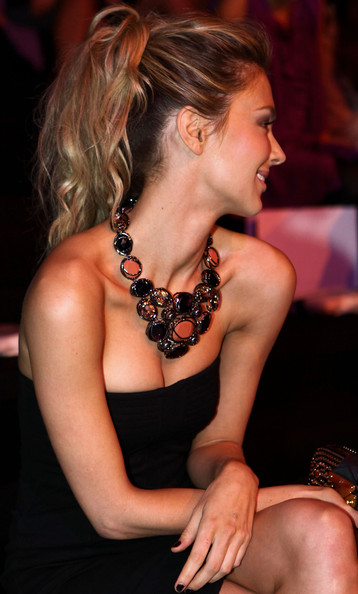 Jennifer Hawkins Gemstone Statement Necklace