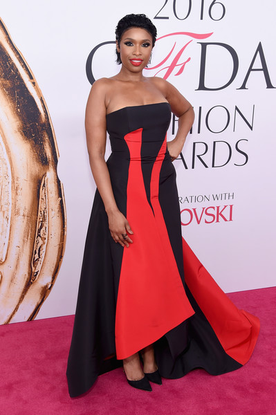 Jennifer Hudson Strapless Dress