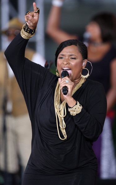 Jennifer Hudson Layered Chainlink Necklaces