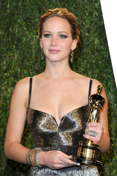 Jennifer Lawrence Diamond Bracelet