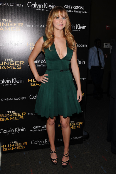 Jennifer Lawrence Cocktail Dress