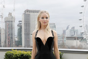 Jennifer Lawrence Form-Fitting Dress