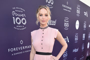 Jennifer Lawrence Midi Dress