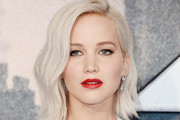 Jennifer Lawrence Red Lipstick