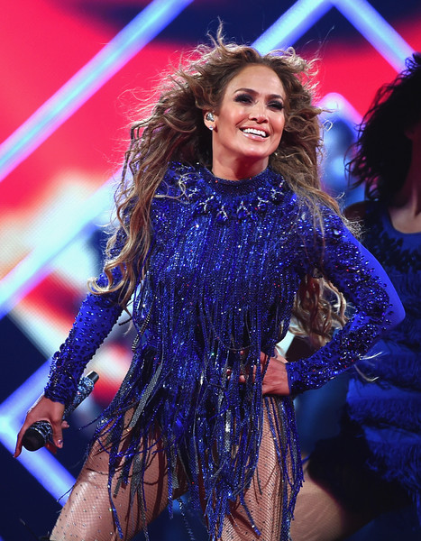 Jennifer Lopez Bodysuit [performance,music artist,fashion,lady,event,public event,performing arts,electric blue,singer,stage,jennifer lopez,jennifer lopez performance,nomadic live,minneapolis,the armory,minnesota,directv,saturday night concert]