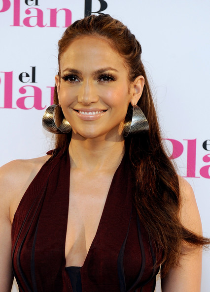 Jennifer Lopez Half Up Half Down