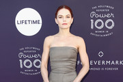 Jennifer Morrison Strapless Dress