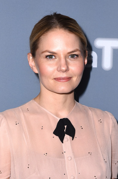 Jennifer Morrison Classic Bun [once upon a time,day one,hair,hairstyle,chin,neck,brown hair,smile,premiere,jennifer morrison,press junket,georgia,atlanta,scad presents atvfest,scad]
