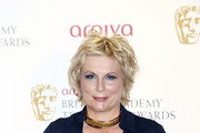 Jennifer Saunders Gold Choker Necklace