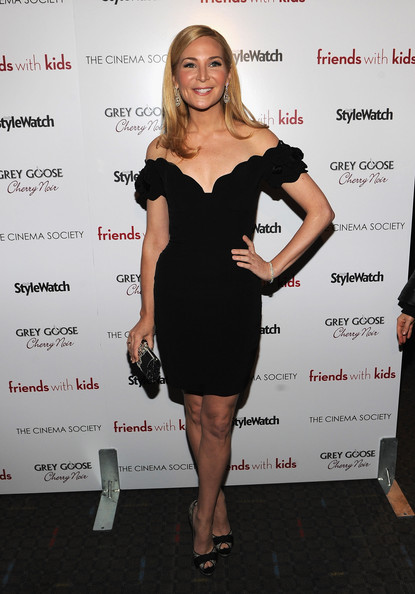 Jennifer Westfeldt Off-the-Shoulder Dress