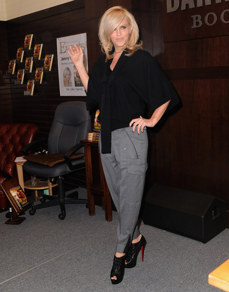 Jenny Mccarthy Ankle Boots Shoes Lookbook Stylebistro