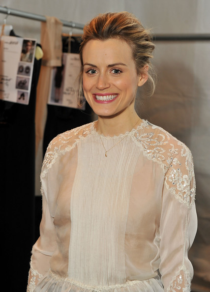 More Pics of Taylor Schilling Sheer Top (1 of 6) - Tops Lookbook - StyleBistro []
