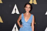 Jenny Slate  Empire Gown