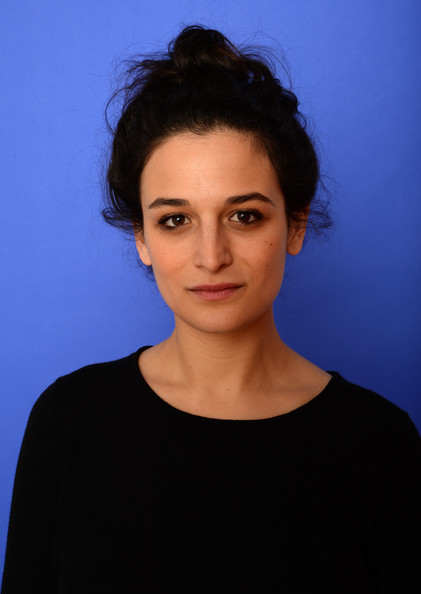 Jenny Slate Messy Updo [obvious child portraits,portrait,village at the lift,face,hair,eyebrow,blue,chin,lip,forehead,hairstyle,head,beauty,jenny slate,utah,park city,getty images portrait studio,sundance film festival]