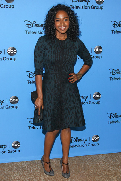 Jerrika Hinton Print Dress