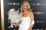Jerry Hall Evening Dress
