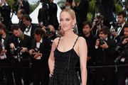Jess Weixler Beaded Dress