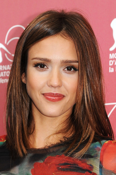 "Jessica Alba Hair. Actress Jessica Alba attend the ""Machete"" photocall"