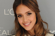 Jessica Alba's Sweet and Stylish Half-Do