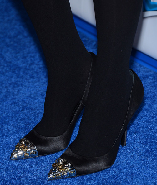 Jessica Alba Evening Pumps