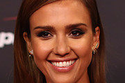 Jessica Alba Long Side Part