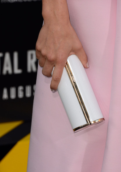 Jessica Biel Hard Case Clutch