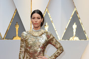 Jessica Biel Sequin Dress