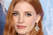 Jessica Chastain Diamond Chandelier Earrings