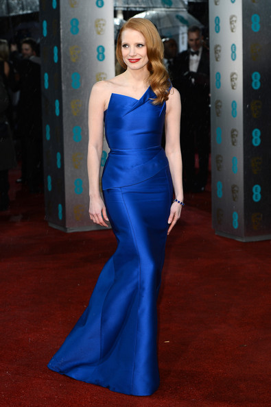 Jessica Chastain Mermaid Gown
