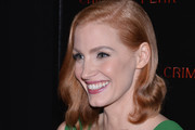 Jessica Chastain Gold Ring