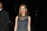 Jessica Chastain Midi Dress