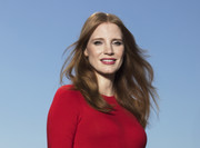 Jessica Chastain styled her hair with barely-there waves for the 'Molly's Game' photocall in Sydney.