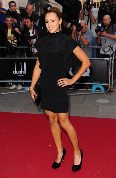 Jessica Ennis Little Black Dress