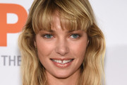 Jessica Hart Long Wavy Cut with Bangs