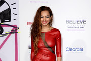 Jessica Jarrell Leather Dress