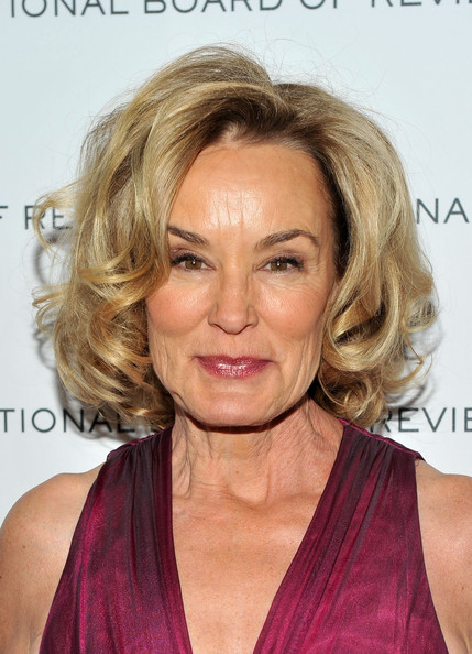 Jessica Lange Curled Out Bob [national board of review of motion pictures gala - inside arrivals,hair,face,blond,hairstyle,eyebrow,chin,lip,forehead,shoulder,hair coloring,new york city,cipriani 42nd street,jessica lange]