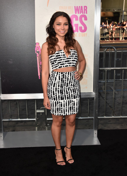 Jessica Parker Kennedy Mini Skirt
