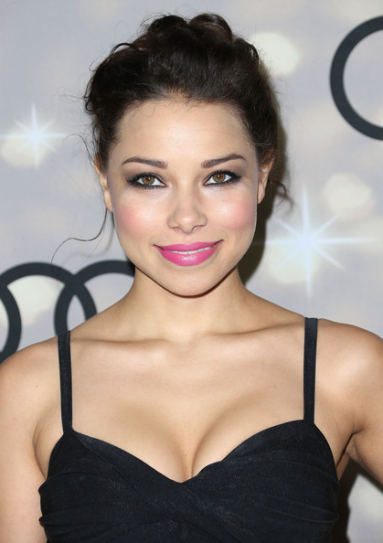 Jessica Parker Kennedy Pinned Up Ringlets [hair,hairstyle,face,eyebrow,lip,beauty,skin,eyelash,chin,black hair,altuzarra,jessica parker kennedy,primetime emmy awards,california,los angeles,cecconis restaurant,audi,party,kick-off,kick-off party]