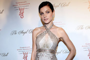 Jessica Stam Beaded Dress