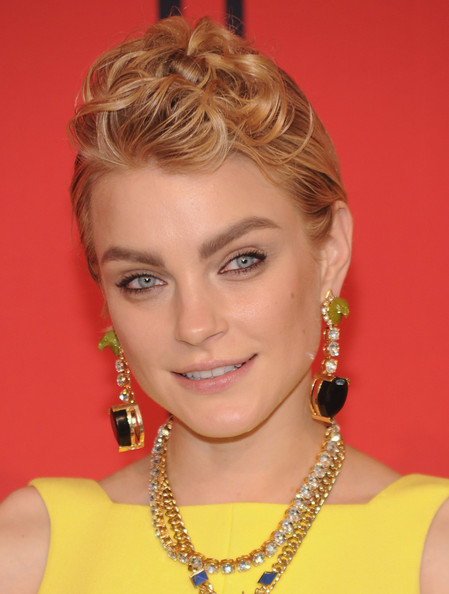 Jessica Stam Dangling Gemstone Earrings