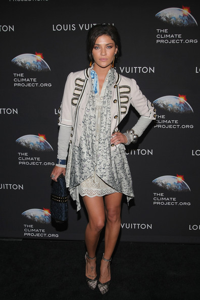 Jessica Szohr Leather Clutch