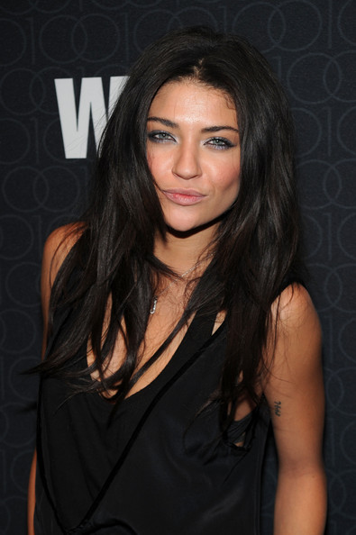 Jessica Szohr Metallic Eyeshadow