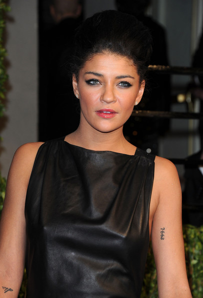 Jessica Szohr Body Art