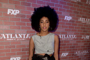 Jessica Williams Sheer Skirt
