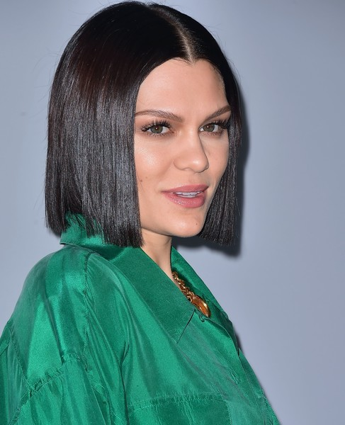 Jessie J Short Straight Cut [stories,hair,face,hairstyle,eyebrow,beauty,black hair,chin,forehead,makeover,lip,arrivals,jessie j,leadership,change,california,inglewood,arrival,event,we day]