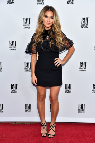 Jessie James Decker Little Black Dress