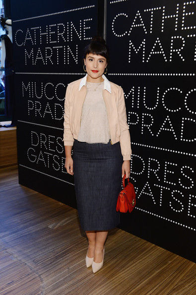 Jessie Ware Denim Skirt