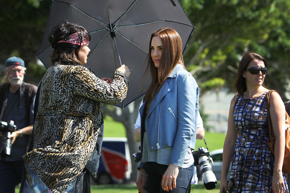 More Pics of Melanie C Leather Jacket (1 of 21) - Leather Jacket Lookbook - StyleBistro
