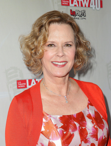 JoBeth Williams Curled Out Bob [hair,hairstyle,blond,chin,lip,premiere,ringlet,feathered hair,smile,layered hair,jobeth williams,beverly hills,california,the beverly hilton hotel,l.a. theatre works 40th anniversary gala - red carpet,l.a. theatre works 40th anniversary gala]