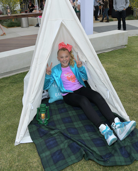 JoJo Siwa Basketball Sneakers [tent,costume,leisure,style,jojo siwa,burbank,california,nickelodeon,sizzling summer camp special event]